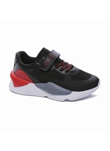 Sanbe Sanbe 130T7706 Çocuk Spor Ayakkabısı Siyah 31-35 Siyah